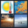 4 Pics 1 Word Answer Climate
