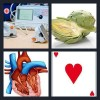 4 Pics 1 Word Answer Heart