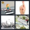 4 Pics 1 Word Answer Crossing