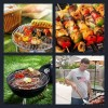 4 Pics 1 Word Answer Barbecue