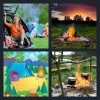 4 Pics 1 Word Answer Campfire