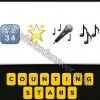 Guess The Emoji 1234 Star Microphone Music Notes