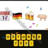 Guess The Emoji Calendar Germany Flag Beers Pig