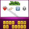 Guess The Emoji Heart Finger Pointing Right 2 Skull