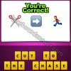 Guess The Emoji Scissors Right Arrow Man Running