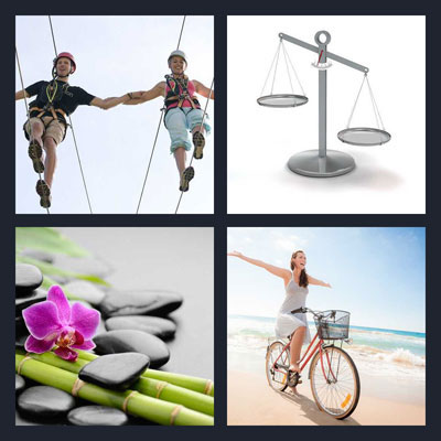 Pics 1 Word Answer Balance | What's The Word 4 Pics 1 Word Answer