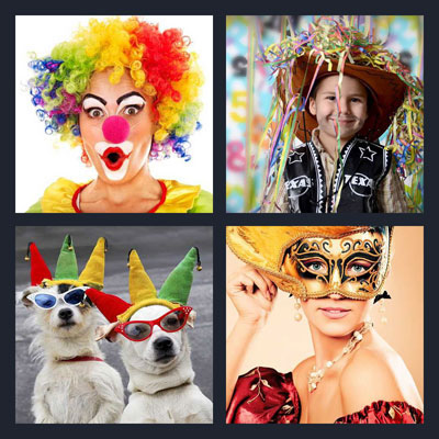 what s the word 4 pics 1 word picture walkthrough 1 clown with red