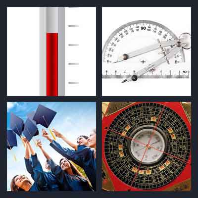 Pics 1 Word Answer Degrees | What's The Word 4 Pics 1 Word Answer