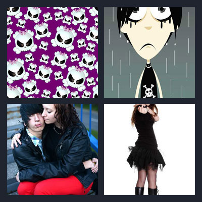 Pics 1 Word Answer Emo | What's The Word 4 Pics 1 Word Answer