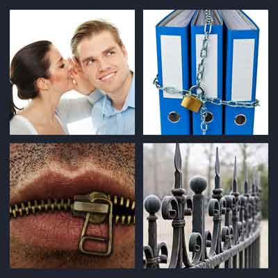 what s the word 4 pics 1 word picture walkthrough 1 girl whispering in