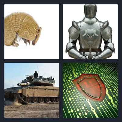 4-pics-1-word-armor