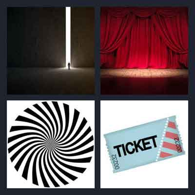4 Pics 1 Word Answer Entrance 4 Pics 1 Word Daily Puzzle
