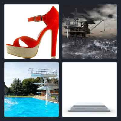 4 Pics 1 Word Answer Platform 4 Pics 1 Word Daily Puzzle Answers