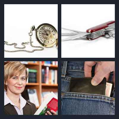 4 Pics 1 Word Answer Pocket 4 Pics 1 Word Daily Puzzle
