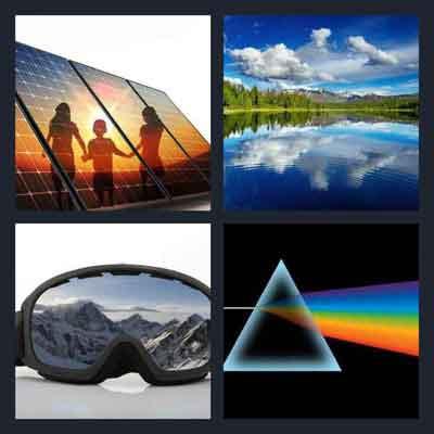 4-pics-1-word-reflect