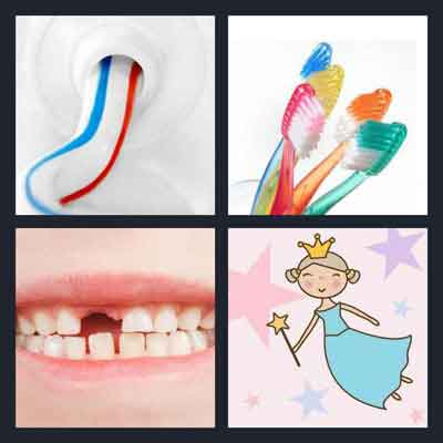 Pics 1 Word Answer Tooth | What's The Word 4 Pics 1 Word Answer