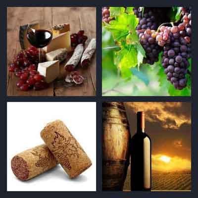 4-pics-1-word-wine