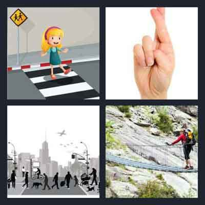 4-pics-1-word-crossing