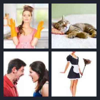 4-pics-1-word-domestic