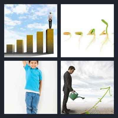 4-pics-1-word-growing