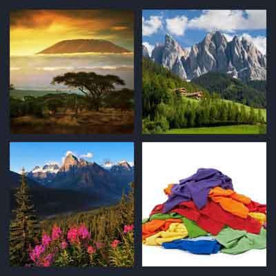 4-pics-1-word-mountain