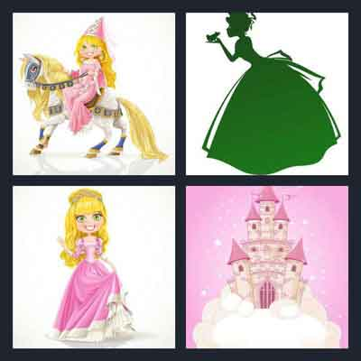4-pics-1-word-princess