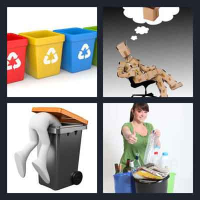 4-pics-1-word-recycle