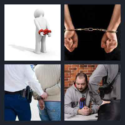 4-pics-1-word-arrested