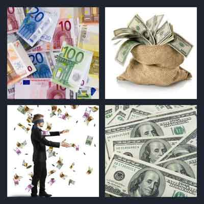 4-pics-1-word-banknote
