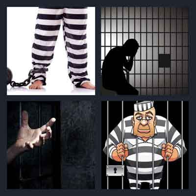 4 pics 1 word answer convict 4 pics 1 word game answers whats the 4 pics 1 word convict expocarfo Image collections