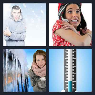 4-pics-1-word-freezing