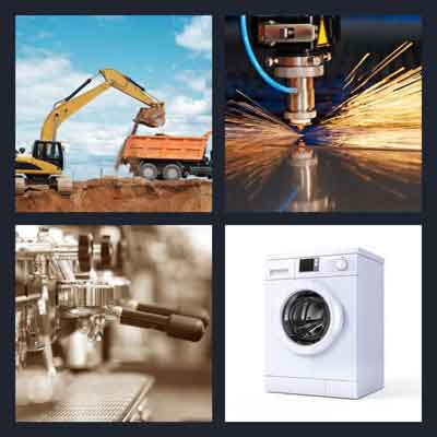 4-pics-1-word-machine