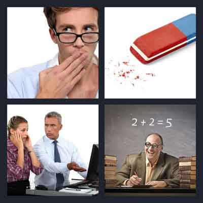 4 pics 1 word answer mistake 4 pics 1 word game answers whats the 4 pics 1 word mistake expocarfo Image collections
