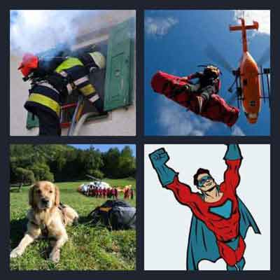 4-pics-1-word-rescue