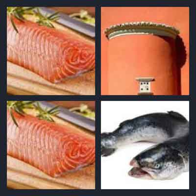 4 pics 1 word answer salmon 4 pics 1 word game answers for Sashimi fish crossword