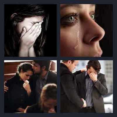4-pics-1-word-sorrow