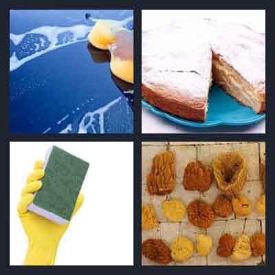 4-pics-1-word-sponge