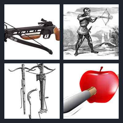 4-pics-1-word-crossbow