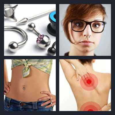 4-pics-1-word-piercing