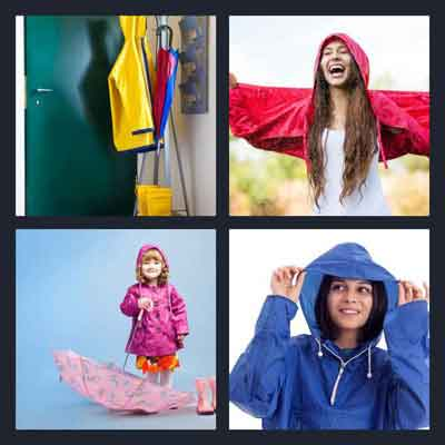 4-pics-1-word-raincoat