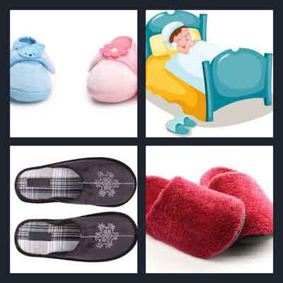 4-pics-1-word-slippers