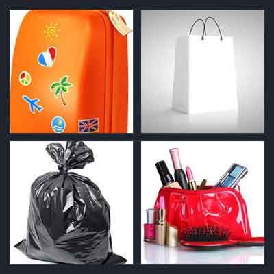 4 Pics 1 Word Answer Bag 4 Pics 1 Word Daily Puzzle Answers