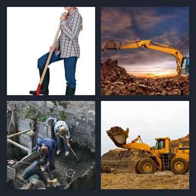 4-pics-1-word-dig