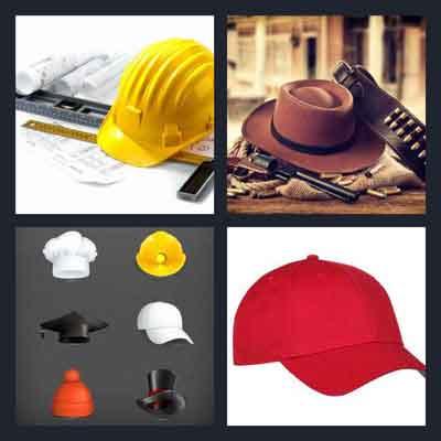 4-pics-1-word-hat