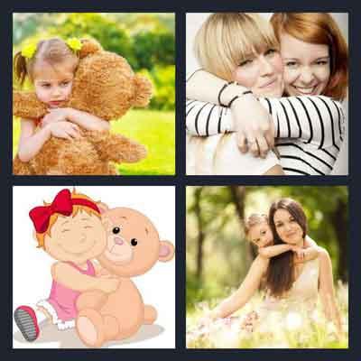 4-pics-1-word-hug