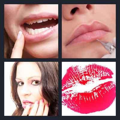 4-pics-1-word-lip
