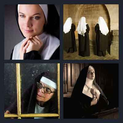 4-pics-1-word-nun