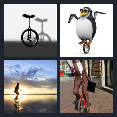 4-pics-1-word-unicycle