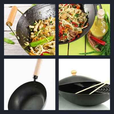 4-pics-1-word-wok