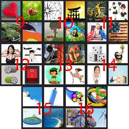 Pics 1 Movie Level 16 Answers | What's The Word 4 Pics 1 Word Answer